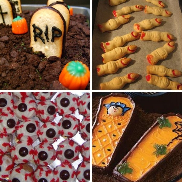 Halloween Themed Dessert Ideas