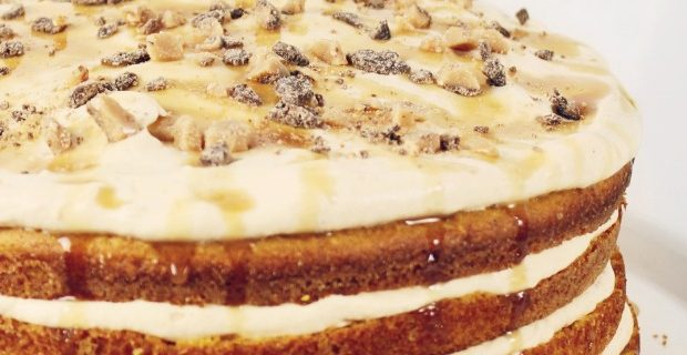 4-Layer Pumpkin Cake