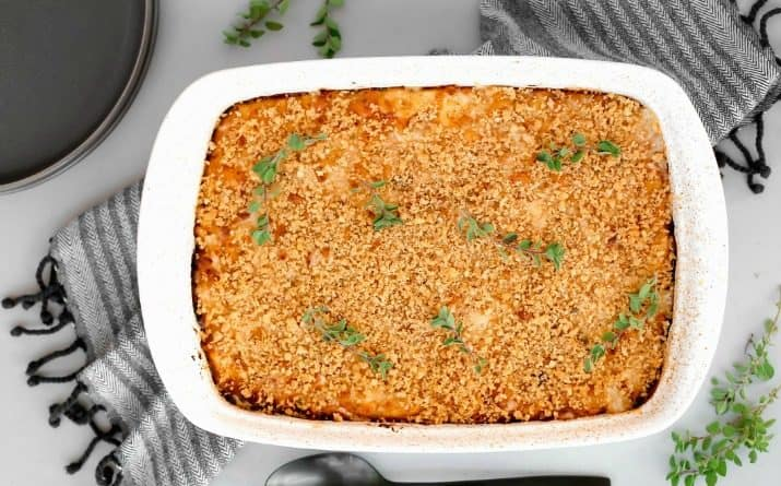 Creamy Homemade Mac-n-Cheese Recipe