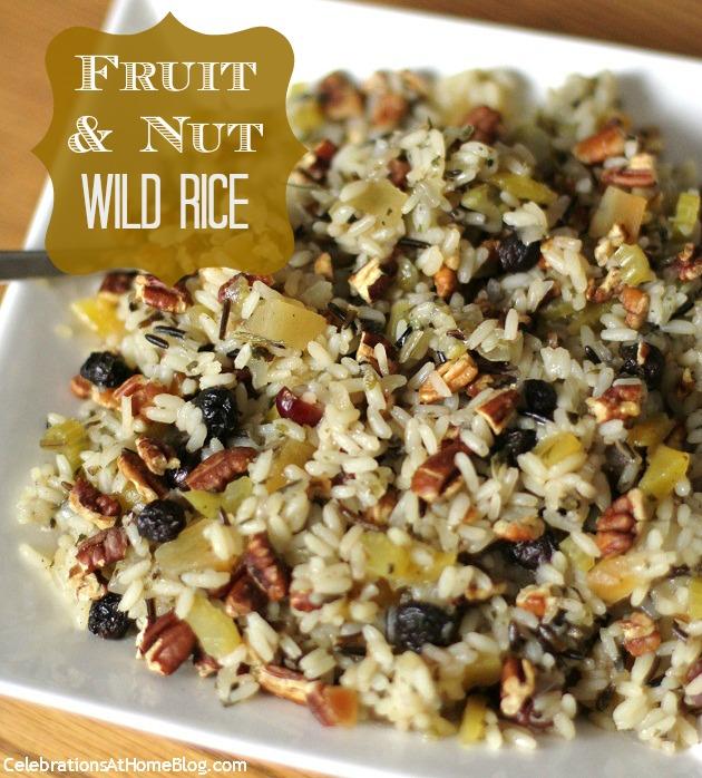 fruit & nut wild rice