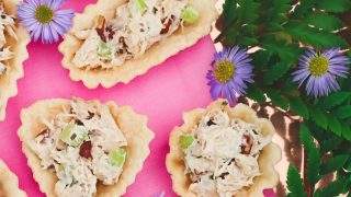 Honey Chicken Salad Cups Party Appetizers
