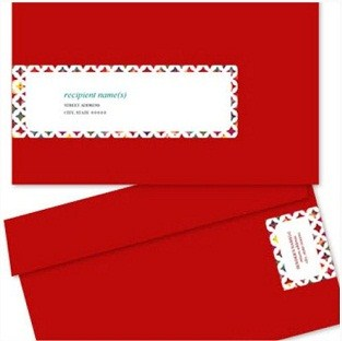 FREE Printable Envelope Label Wraps
