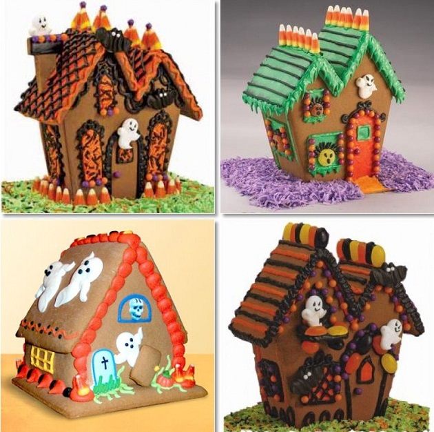 Haunted Gingerbread Houses Celebrations At Home
