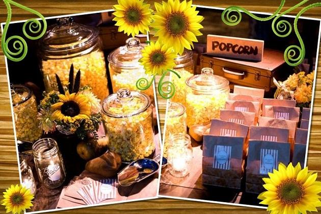 Wedding Take Away Gifts: Sensational Sunflowers