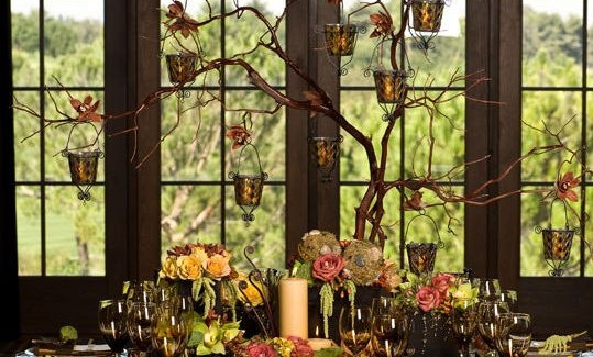 Stunning Tabletop For Thanksgiving