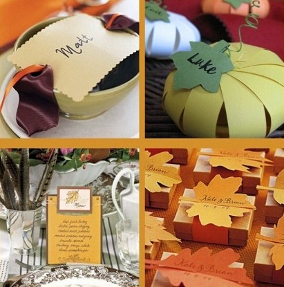 Classy Paper Crafts For Your Thanksgiving Table