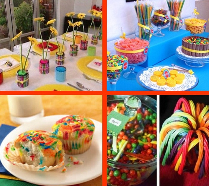 A Colorful Crayola Birthday Party