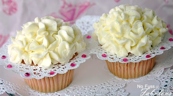 diy ruffled cupcake band