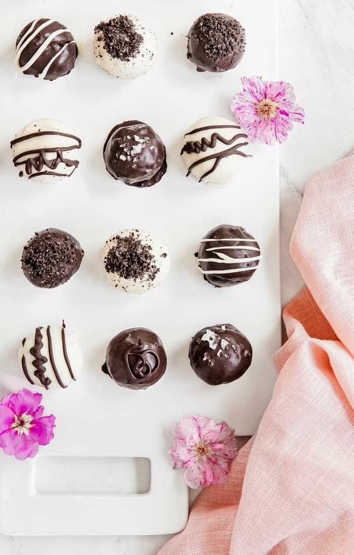 easy mini dessert truffles for a party