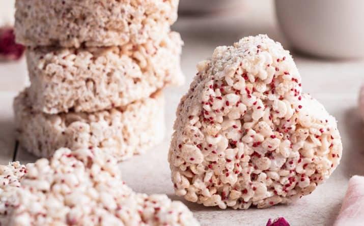 Easy Valentines Rice Krispie Treats