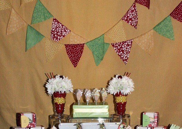Ice Cream Sundae Bar for 9th Birthday