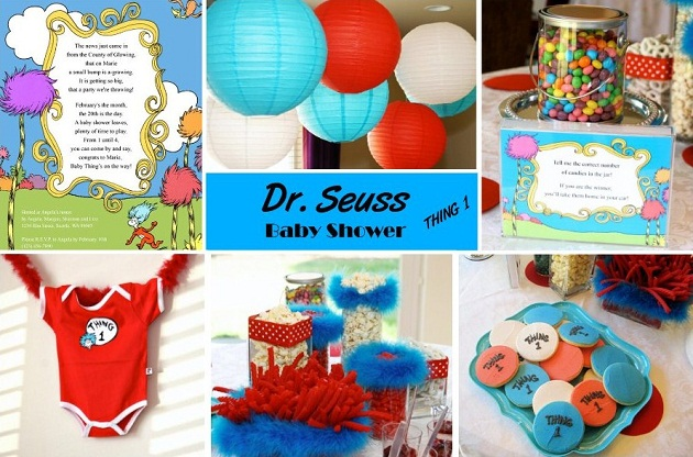 I Was So Happy When Maegan Birr Sent Me These Pictures Of Her Dr. Seuss  Baby Shower To Share With You All. Maegan Gathered Inspiration From All  Around The ...