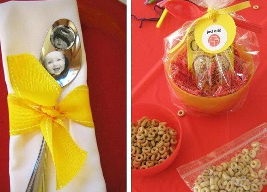 Cheerios Theme 1st Birthday {guest feature}