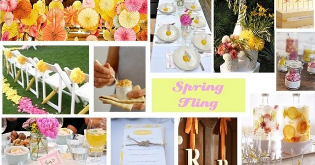 Spring Fling Bridal Shower Ideas