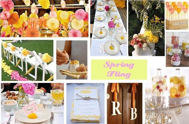 Spring Fling Bridal Shower Ideas