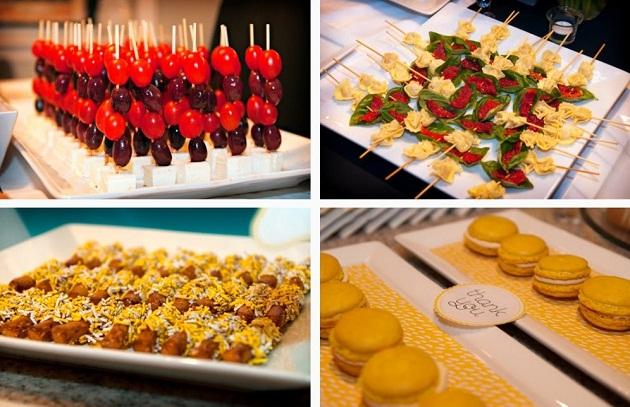 stylish food presentation celebrations at home