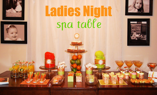 Ladies Night Spa Table