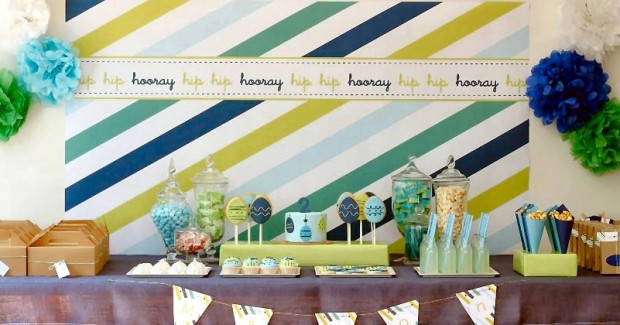 Perfect For A Boy! – Stylish Dessert Table {guest feature}