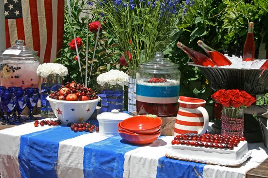 Memorial day weekend gathering celebrations at home for B day decoration at home