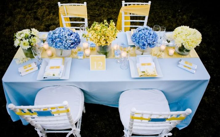 Pale Blue & Yellow Baby Shower {guest feature}