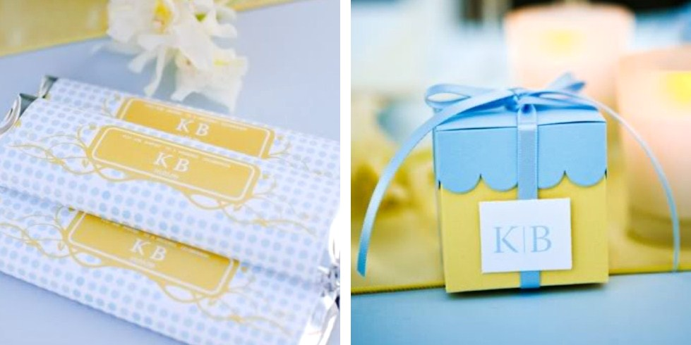 Pale Blue Yellow Baby Shower Celebrations At Home
