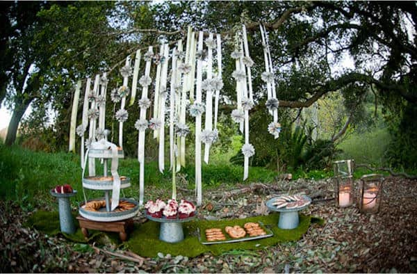 Fantasy Picnic Setting {guest feature}