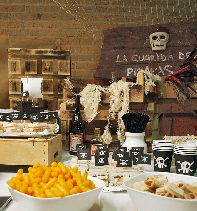 Rustic Pirate Birthday Party {guest Feature