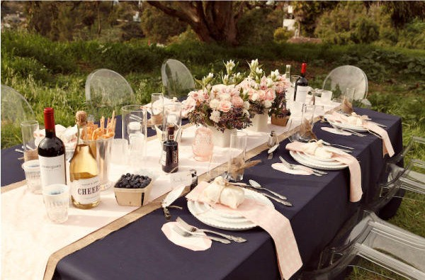 'Blush And Blueberries' Inspiration