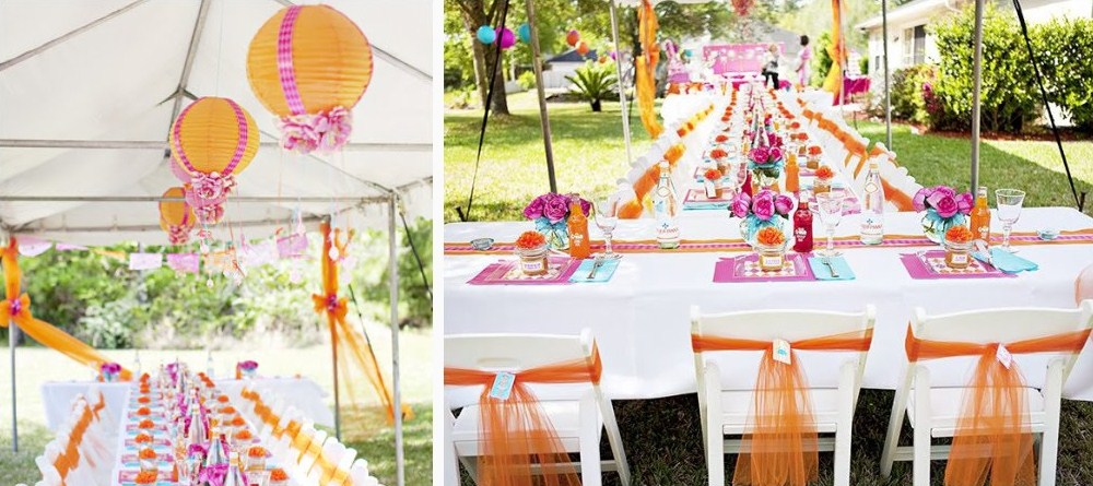 Beautiful Bright Baby Shower Guest Feature