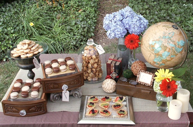 French Themed Birthday Party Celebrations At Home
