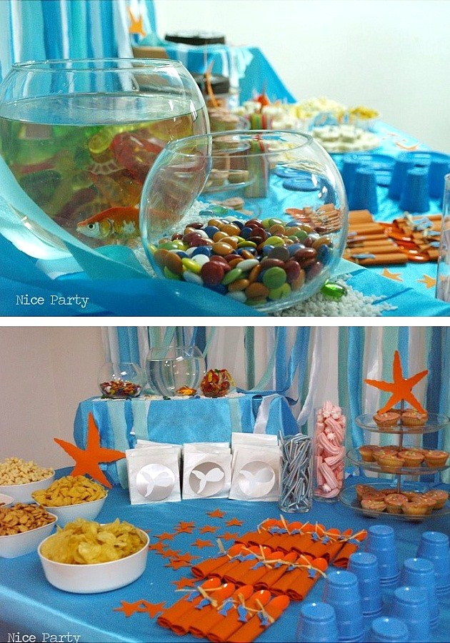 Under The Sea Birthday Party {guest feature}