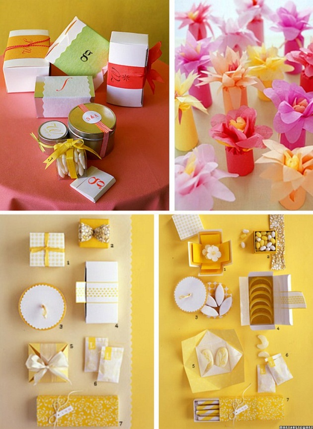 Creative Favor Packaging Celebrations At Home