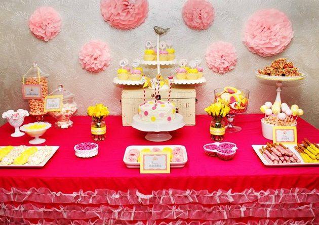 Pastel Vintage Circus Birthday