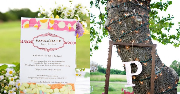 Backyard Baby Shower {guest feature}