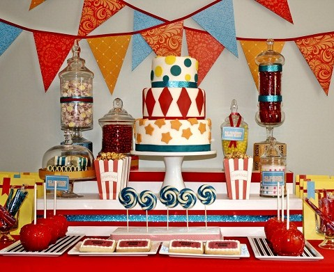 Carnival Candy Buffet