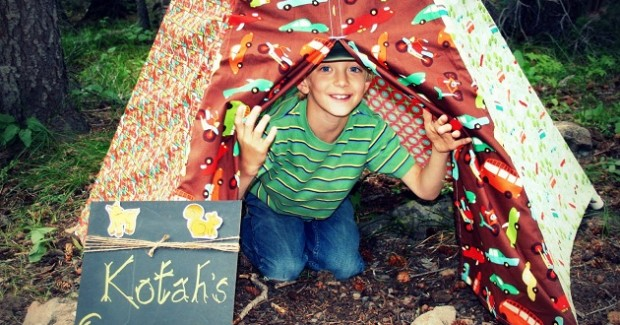 Boy's Campout Party {guest feature}