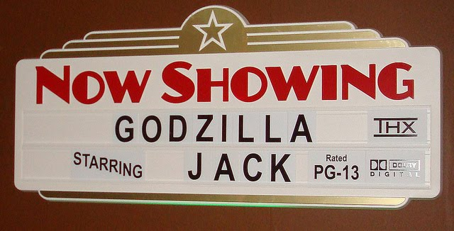 A Movie Theater Birthday Featuring Godzilla Guest Feature Celebrations At Home