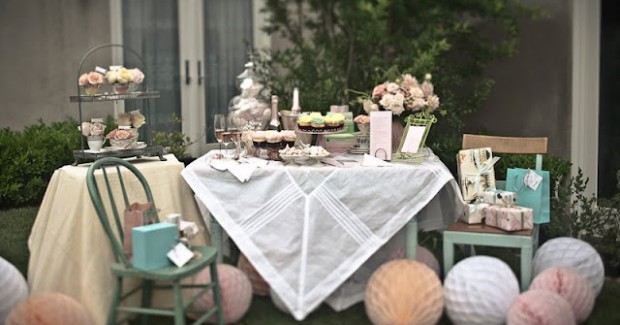 Bridal Shower Tea Party