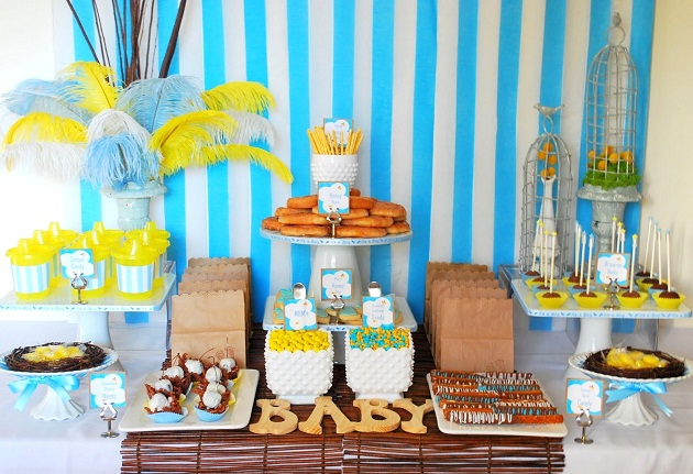 """The Birds And The Bees"" Baby Shower {guest feature}"