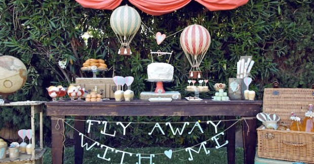 """Fly Away With Me"" Dessert Table {Guest Feature}"