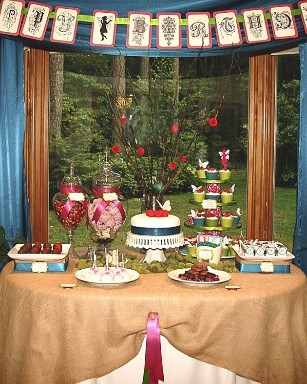 fairy-banner-and-dessert-table
