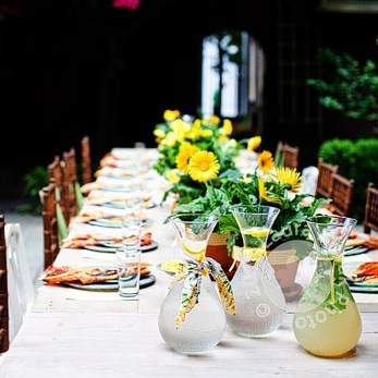 Bridal Shower In The Garden {guest feature}