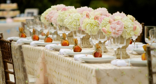 An Elegant Garden Dinner Party