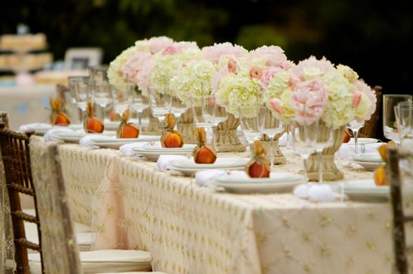 An Elegant Garden Dinner Party