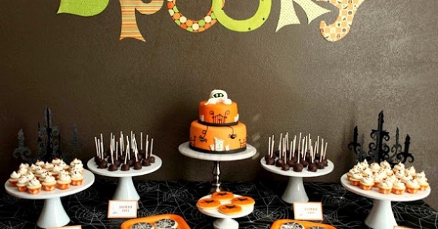 "Children's ""Spooky"" Treats Table"