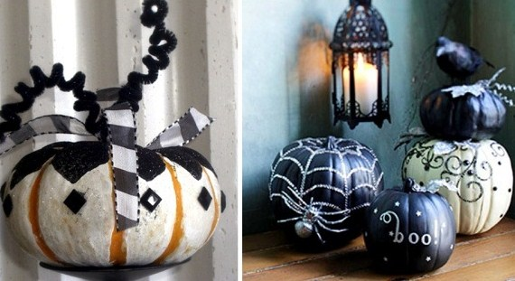 Pumpkin Decor – No Carving Required