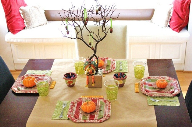 Thanksgiving Kids Table Celebrations At Home
