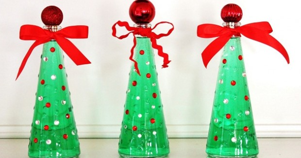 "IKEA Vase Christmas ""Trees"""