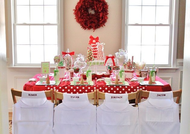 Kids Candy Coated Christmas Party