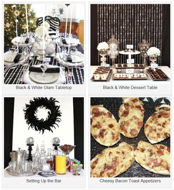 New year 39 s dinner party happy new year pinterest - New years eve party at home ...
